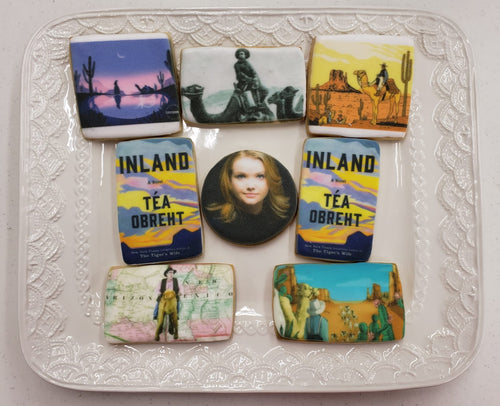 Quantity Book Cover or Movie Poster Cookies to make a Launch Party Special!