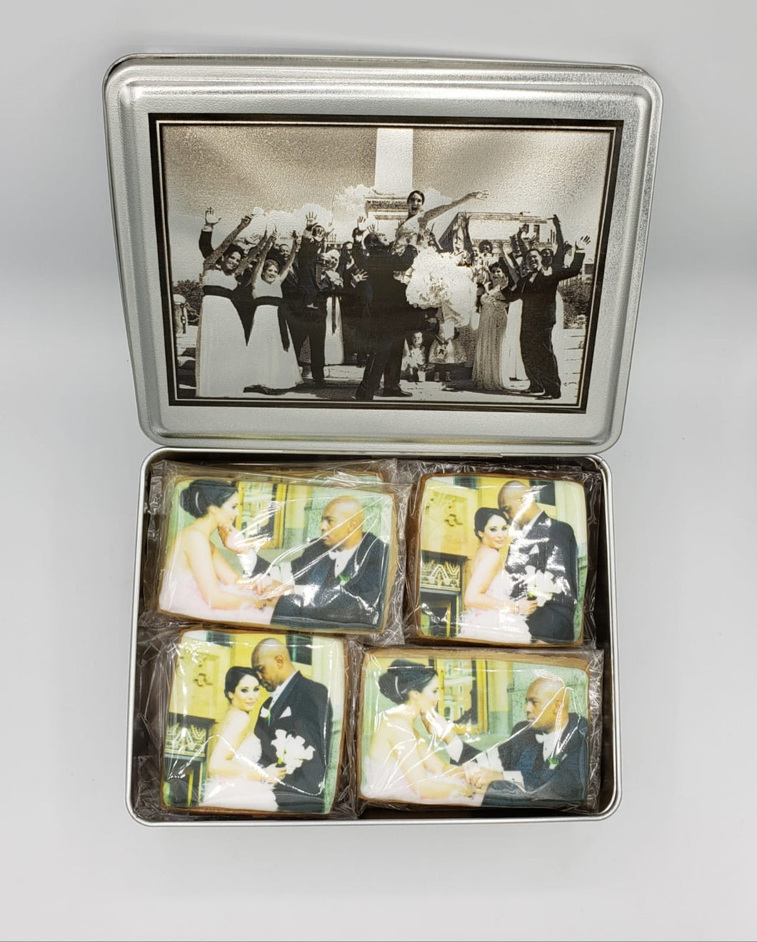Wedding Party Cookie Boxes