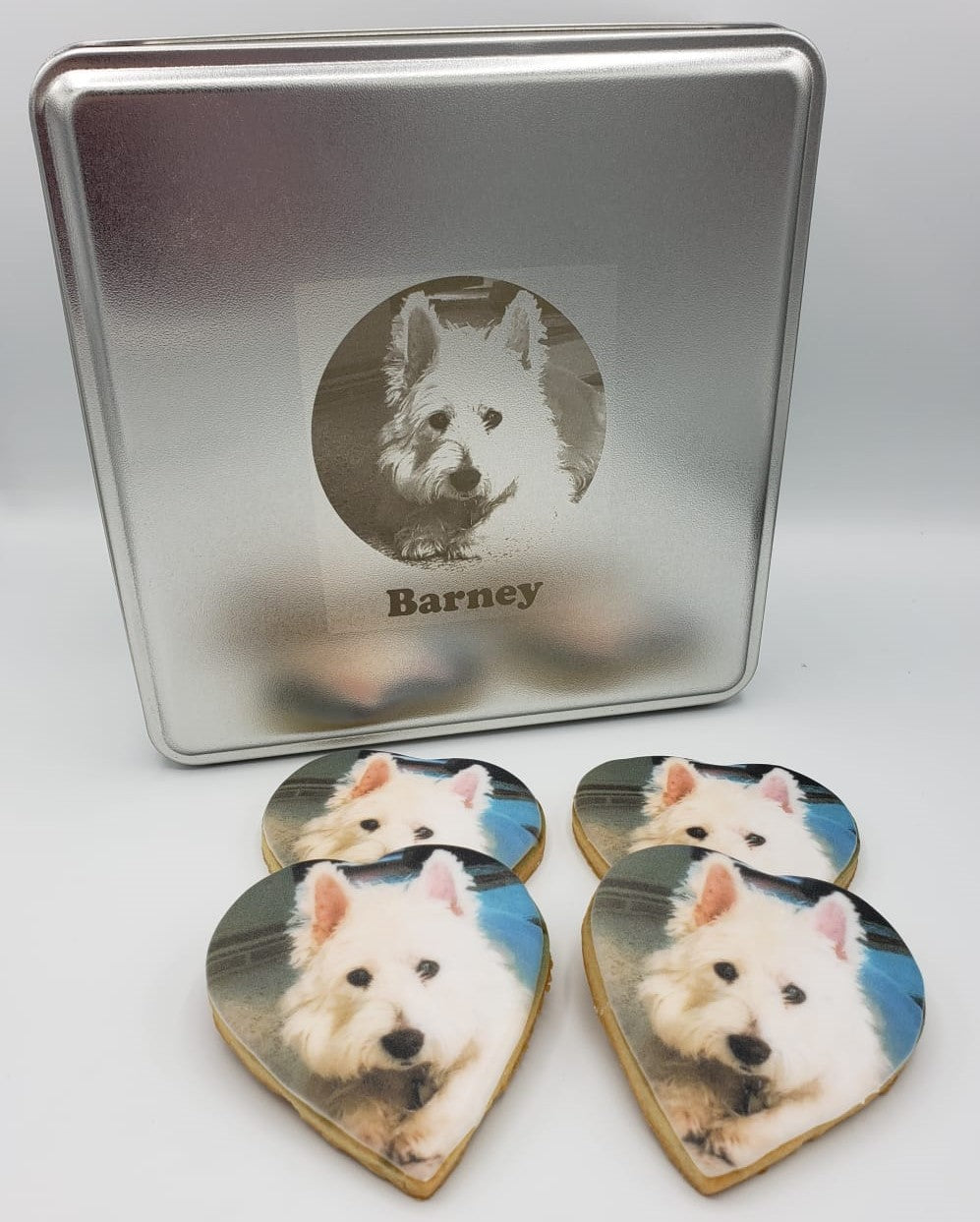 The Personalized Pet Lover's Photo Cookie Box