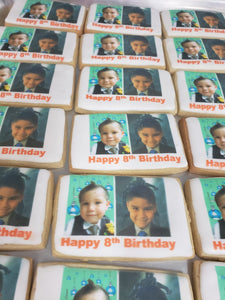 Quantity Custom Then and Now Birthday, Graduation, or Retirement Cookies