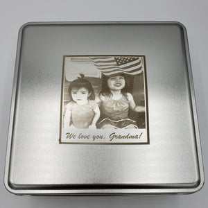 The  Custom Family Photo Cookie Box
