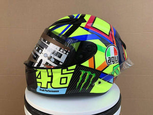 Capacete AGV  K1 design casco: Monster Energy VR46 Drudi Performance Full Face