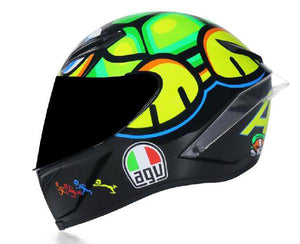 Capacete AGV K1 viseira fume Design  do casco GP pista Drudi performace.