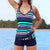 Tankini Shorts High waist Swimwear Female Bathing Suit