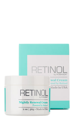 Nightly Renewal Cream - Retinol by Robanda