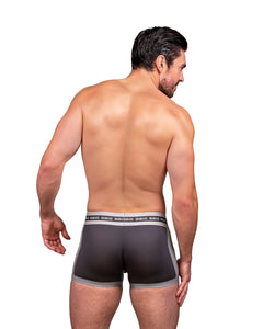 Steve Grand wearing GRAND AXIS boxerbrief underwear. back view