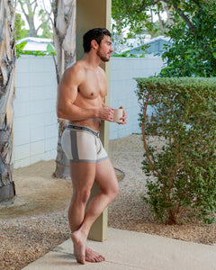 Steve Grand wearing GRAND AXIS boxerbrief underwear