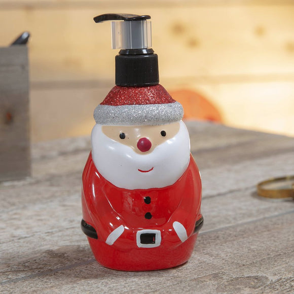 Santa or Snowman Novelty 320ml Hand Soap and Dispenser
