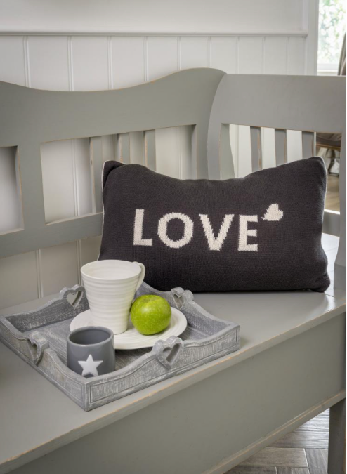 Two Way Love Knit Cushion