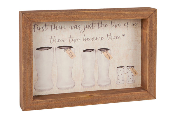 3 Welly Family Plaque