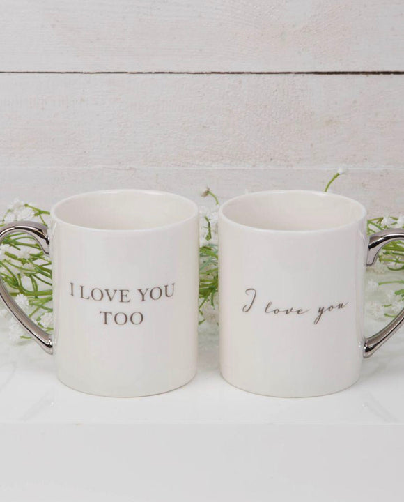 Mug Gift Set I Love You..... Too