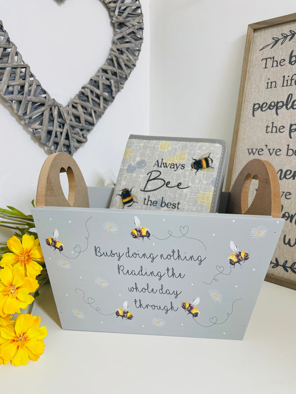 **COMING BACK SOON** Busy Bee Reading Crate