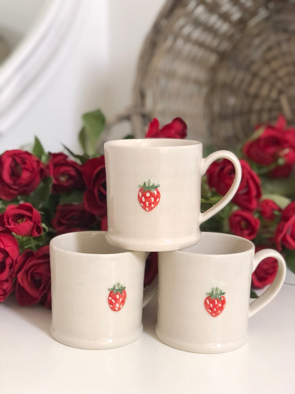 Mini Strawberry Mug