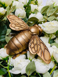 Chunky Rose Gold Bee Ornament