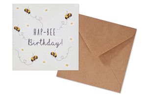 Hap-Bee Birthday Gift Card
