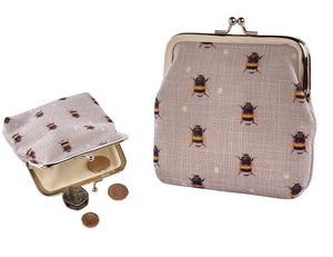 Beautiful Bee Coin Purse