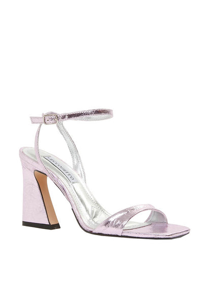 Cecconello metallic pink high heeled sandals 1590003-1 | Perth WA