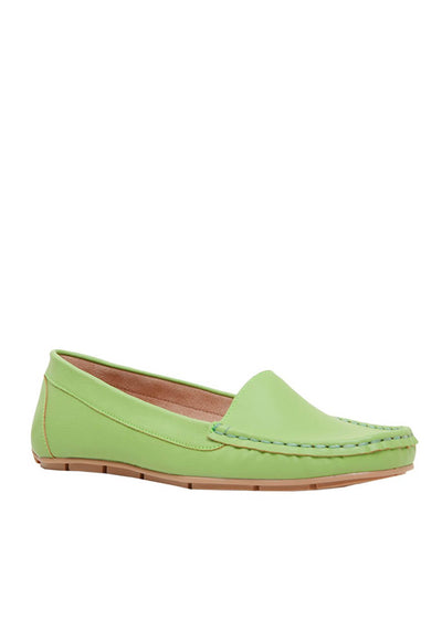 Cecconello avocado green moccasins/loafers 1627001-4 | Perth WA