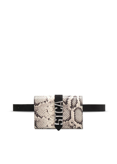 S07WG0165P3505-963 Just Cavalli Belt bag with STCA logo - Python | PERTH WA