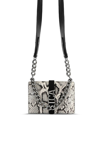 S07WG0164P3505/963 Just Cavalli Mini Crossbody bag - Python Print | Perth WA