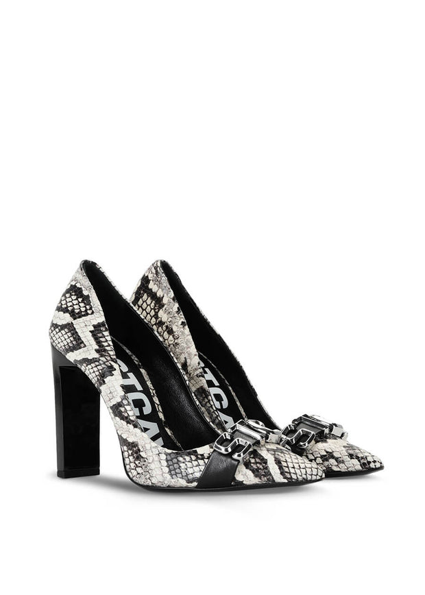 S09WL0090P3489/963 Just Cavalli Court shoe with STCA logo | PERTH WA