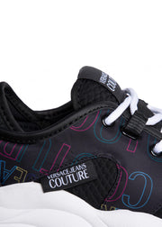 Versace Jeans Couture - Logo Sneakers Black Multi