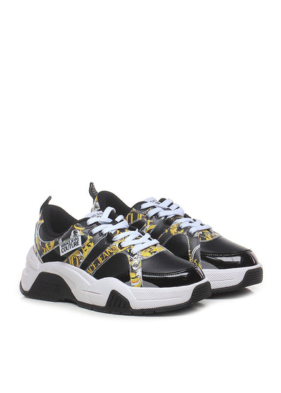 Versace Jeans Couture - Baroque Logo Sneakers