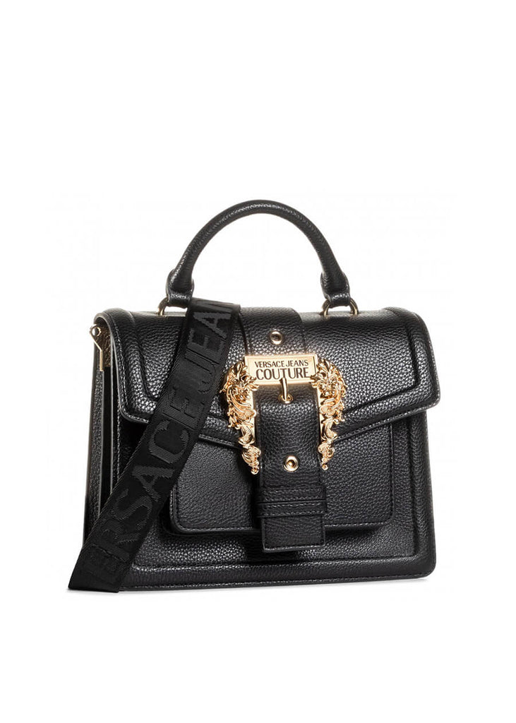 E1VZABF5 71578 899 Versace Jeans Couture Grana Pu Buckle Shoulder Bag | Perth WA