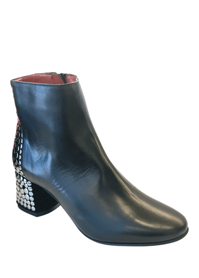 Ankle Boots with silver studs | Dimario Italian Shoes - Perth WA