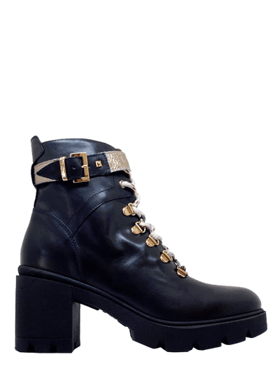 Made in Italy Combat Boots - NeroGiardini | Dimario Shoes Perth