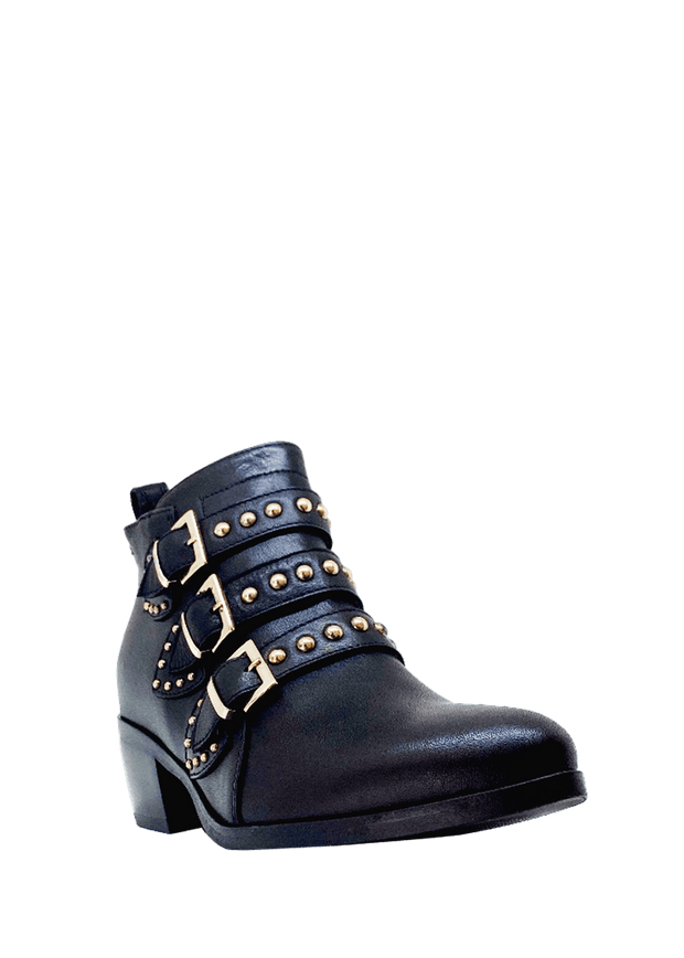 Made in Italy Biker Boot - NeroGiardini | Dimario Shoes Perth