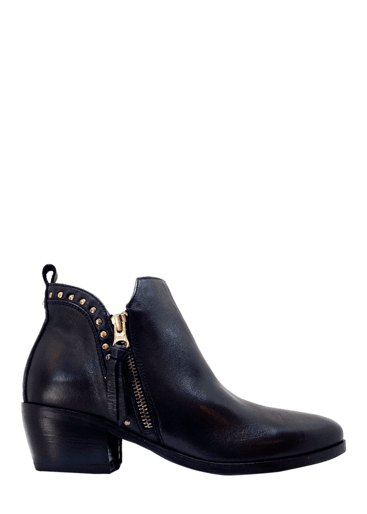 Made in Italy Sagar Deco - Luxe Leather Ankle Boots - NeroGiardini | Dimario Shoes Perth