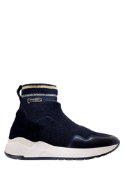 Made in Italy Sock Sneaker - NeroGiardini | Dimario Shoes Perth