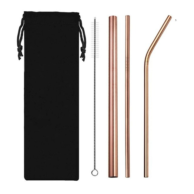 Stainless Steel Drinking Straws Reusable - Ocloq Shop