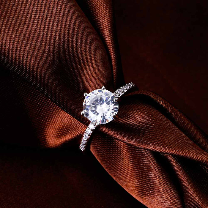 Ailend Zircon Crystal Ring - Ocloq Shop