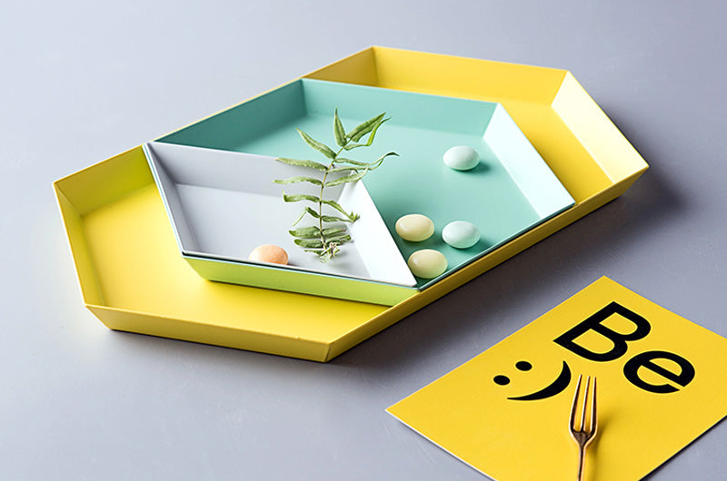 Polygon Desktop Storage Tray - Ocloq Shop