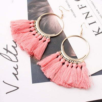 Ethnic Tassel Earrings For Women - Ocloq Shop