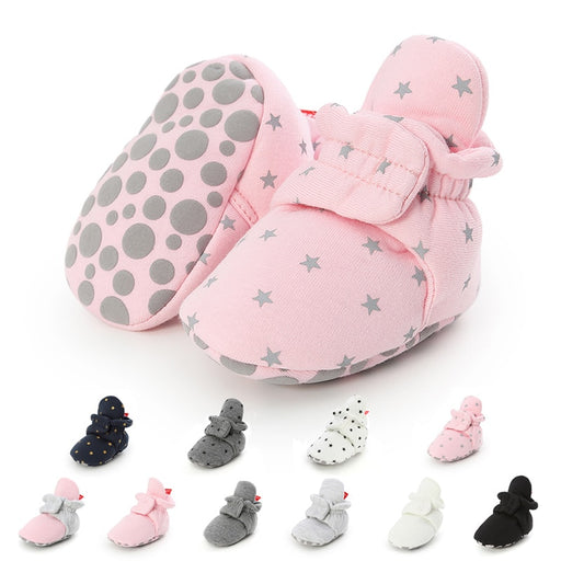 Newborn Boy Girl Baby Ankle Socks Shoes - Ocloq Shop