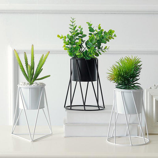Tabletop Flowerpot Metal - Ocloq Shop