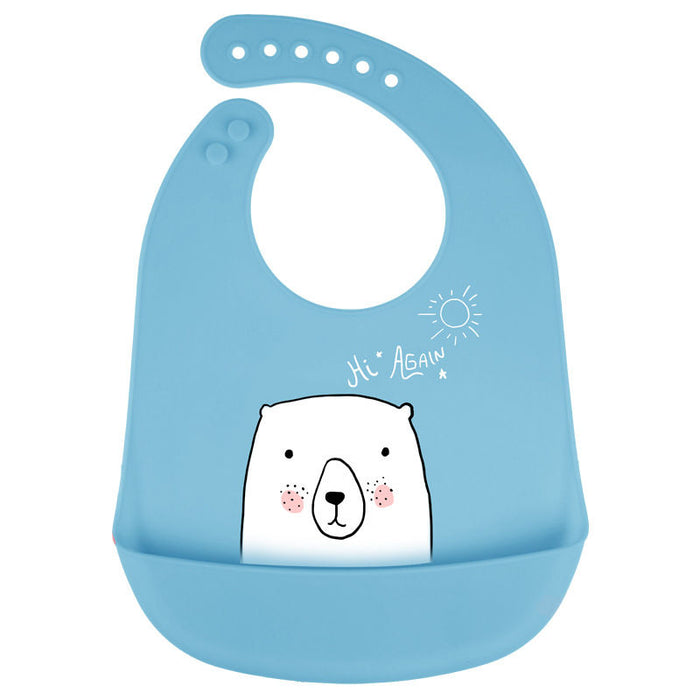 Baby Bibs Silicone Waterproof Feeding Bibs for Infant - Ocloq Shop