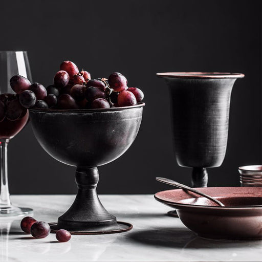 Vintage Wine Set Round Cup - Ocloq Shop