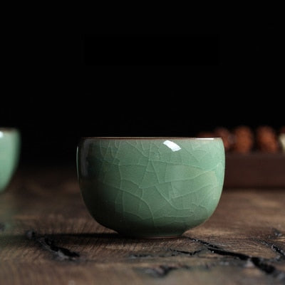 Chinese Longquan Celadon Porcelain 100 ml - Ocloq Shop
