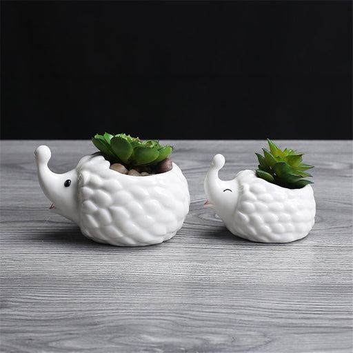 Hedgehog Flowerpot - Ocloq Shop