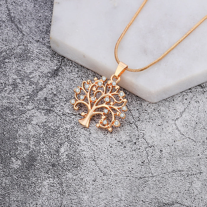 Gold Tree Of Life Necklace for Women - Ocloq Shop