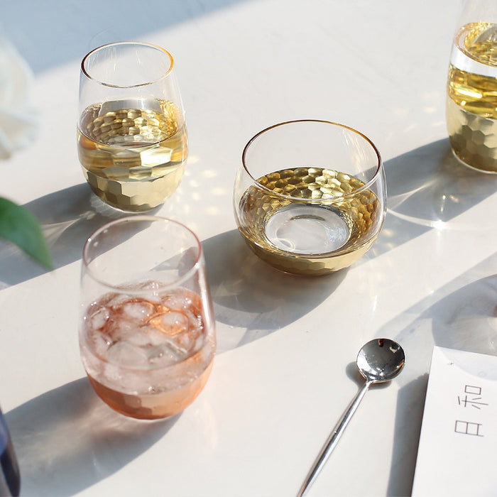 Rose Gold Plating Glass Drinkware - Ocloq Shop