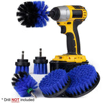 6 Piece Household All Purpose Power Scrubber Brush Set for Cleaning
