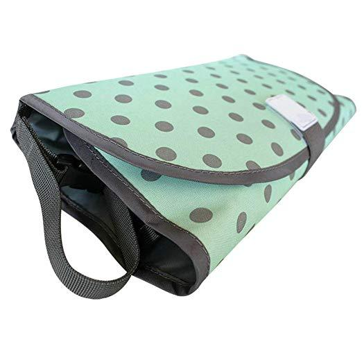 Soft waterproof Foldable Changing Pad and Diaper Bag(Factory Outlet 50% OFF Today)