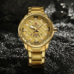 Men Quartz Stainless Steel Wrist Watch
