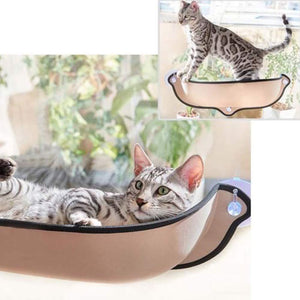 Removable Cat Hammock Bed with Soft Cushion for Car & Home Window
