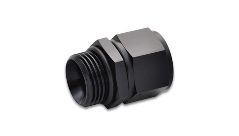 Vibrant -10AN Female to -12AN Male Straight Cut Adapter with O-Ring